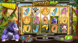 Online Slot Machine Gorilla Go Wild