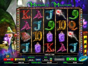 Online Slot Merlins Millions