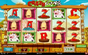 Slot Machine Crazy Cows Online