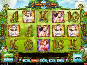 Play Slot Enchanted Crystals Online