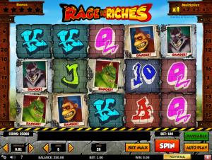 Slot Machine Rage To Riches Online