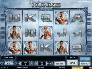 Play Slot Scandinavian Hunks Online