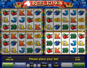 4 Reel Kings Online Slot For Free
