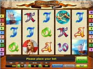 Columbus Deluxe Online Slot Machine