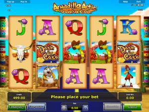 Online Slot Armadillo Artie Dash For Cash Novomatic for Free