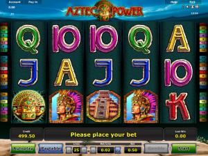 Online Aztec Power Slot for Free