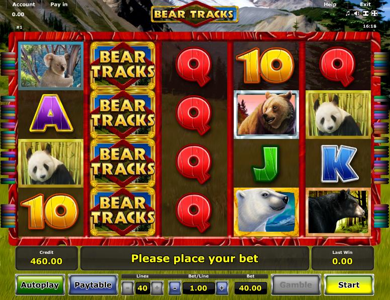 Bear tracks novomatic casino slots Gölyaka