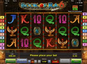 Book of Ra 6 Deluxe Online Novomatic Slot