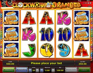 Clockwork Oranges Online Novomatic Slot