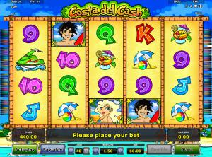 Online Slot Machine Costa Del Cash