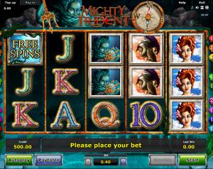 Online Slot Machine Mighty Trident