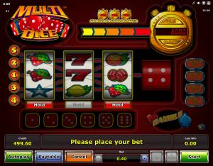 Slot Machine Multi Dice Online