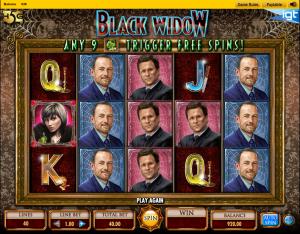 Slot Machine Black Widow Online