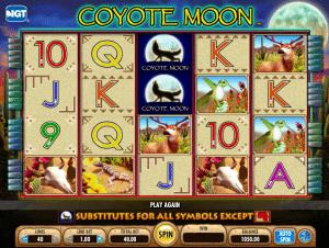 Online Coyote Moon Slot