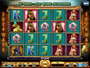 Slot Machine Crown Of Egypt Online