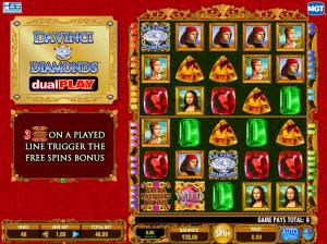 Play Slot Da Vinci Diamonds Dual Play Online