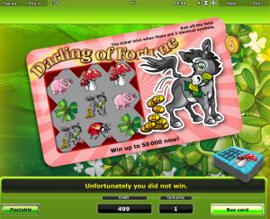 Slot Machine Darling Of Fortune Online