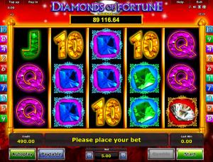 Online Slot Machine Diamonds Of Fortune