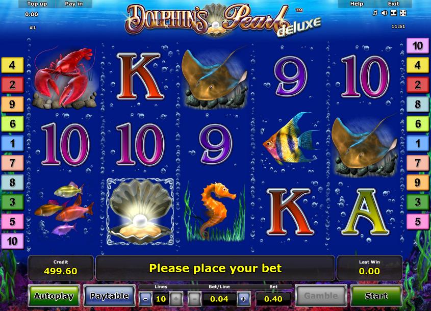 Slot Dolphins Pearl Deluxe Online Gratis