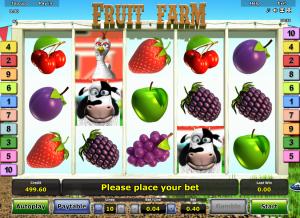 Online Slot Machine Fruit Farm