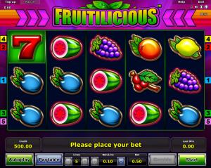 Online Fruitilicious Slot