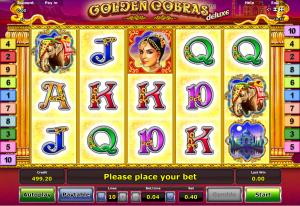 Play Slot Golden Cobras Deluxe Online
