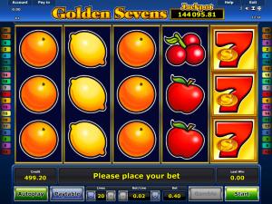 Online Slot Golden Sevens 2