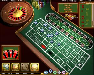 Play GT European Roulette Online