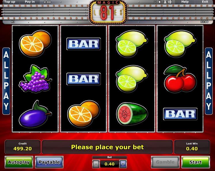 magic online slots