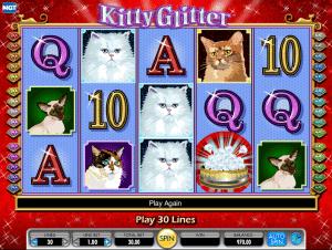 Online Kitty Glitter Slot