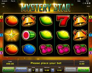 Slot Machine Mystery Star Online