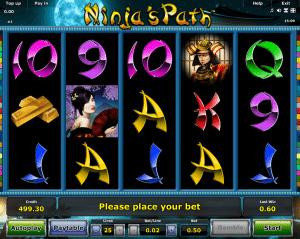 Play Slot Ninja Path Online