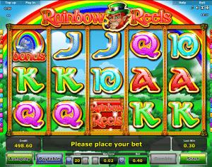 Play Slot Rainbow Reels Online