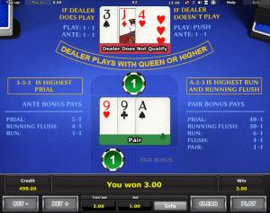 Online Royal Crown Three Card Brag Slot
