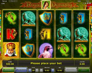 Slot Machine Royal Dynasty Online
