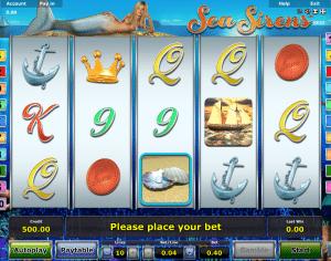 Online Slot Sea Sirens