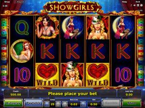 Online Showgirls Slot
