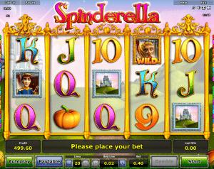 Slot Machine Spinderella Online
