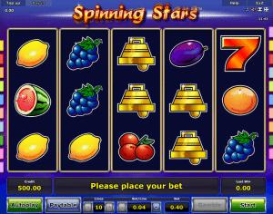Online Slot Spinning Stars