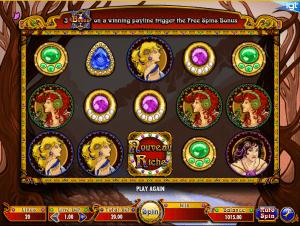 Slot Machine Nouveau Riche Online