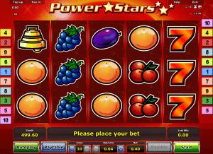 Online Power Stars Slot