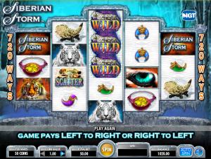 Play Slot Siberian Storm Online