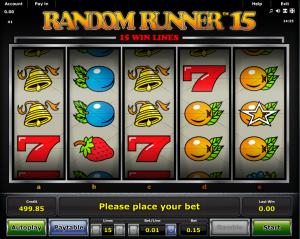 Online Random Runner 15 Slot