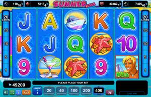 Slot Machine Summer Bliss Online