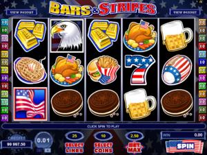 Online Slot Bars And Stripes