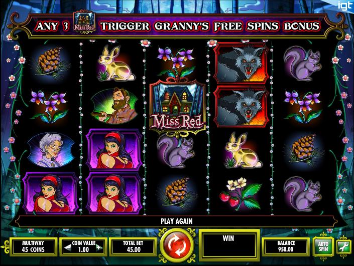 Wolf Rising slot fra IGT - spil slots online gratis