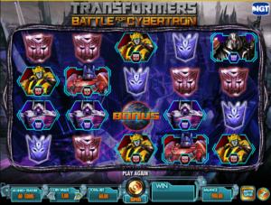 Online Transformers Battle For Cybertron Slot