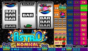 Online Astronomical Slot