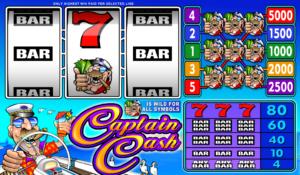 Online Slot Captain Cash