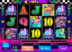 Online Crazy 80s Slot